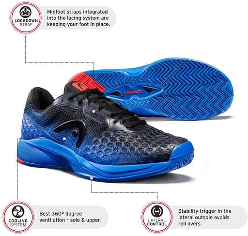 Head Revolt Pro 3.0 Tennis Shoes Review