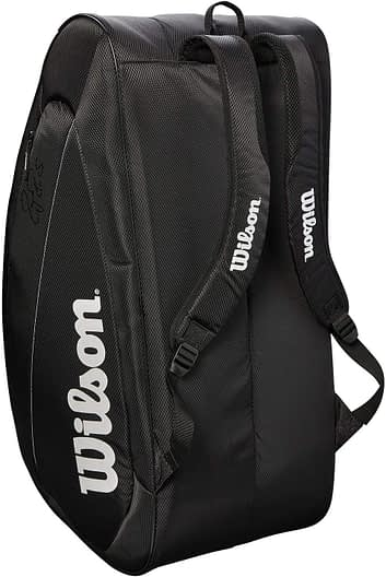 Wilson Fed Team Tennis Bag 12 Pack Features